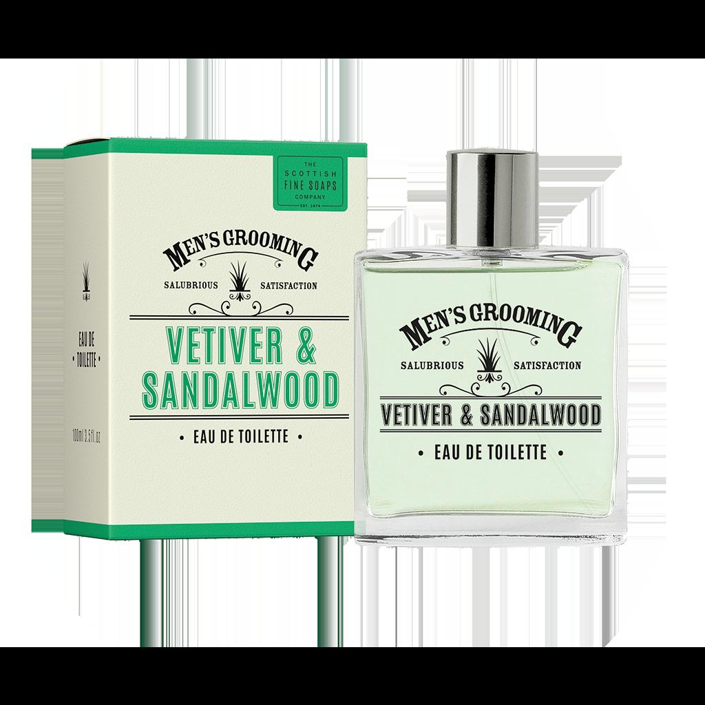 Vetiver and Sandalwood Eau de Toilette