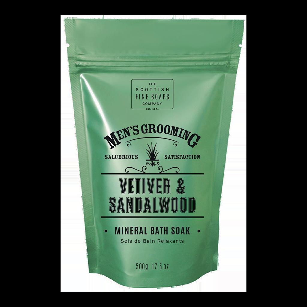 Vetiver and Sandalwood Mineral Bath Soak